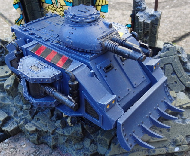 Space Marine Predator Annihilator - Space Wolves