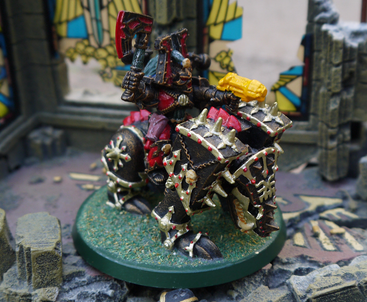 Juggernaut of Khorne - Daemon Steed