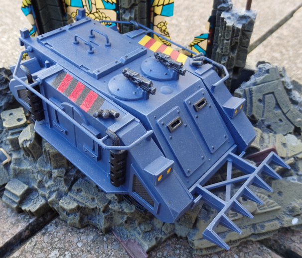 Space Marines Rhino - Space Wolves