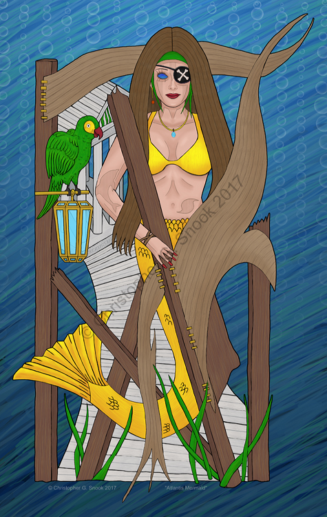 Mermaid of Atlantis - Pirates Mermaid