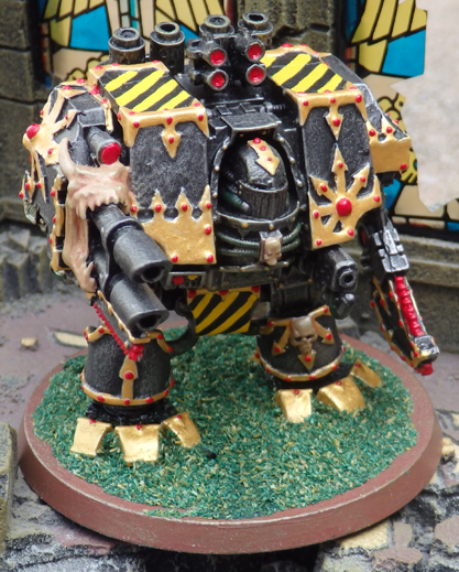 Chaos Space Marine Dreadnought - Iron Warriors - Forge World