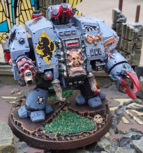 Bjorn The Fell-Handed - Space Wolves Venerable Dreadnought
