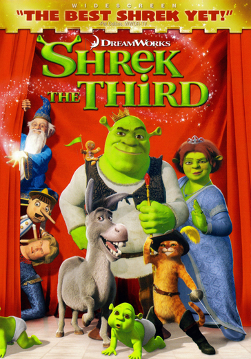 Shrek the Third - Desires to be King, with rivers of mud :)