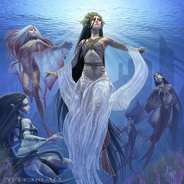 Mermaid - Queen of Atlantis