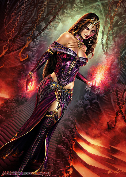 Liliana - Queen of Veil Queen of Night